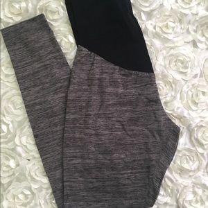 Maternity leggings size M dark grey